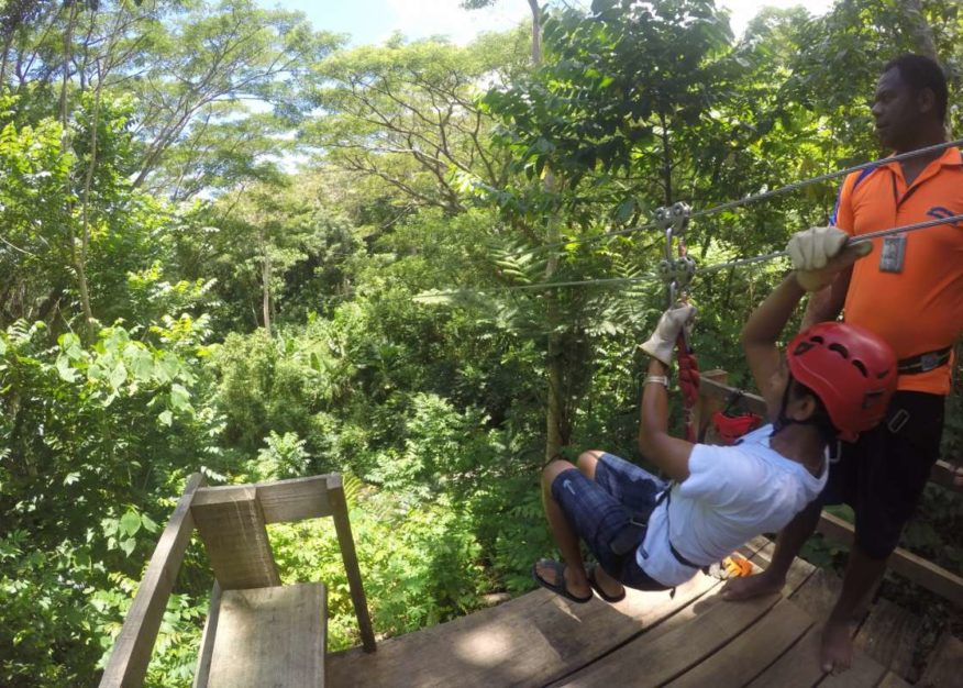 Zip Line Sleeping Giant - Zipline & Waterfall Tour