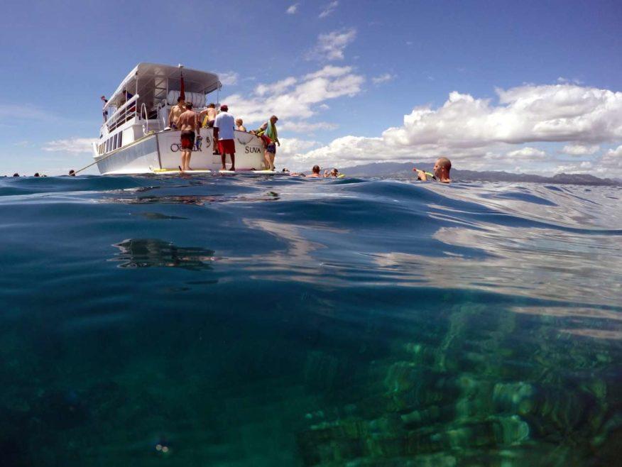 Oolala Day Cruise to Savala Island and Sand Cay with pickups from Denarau, Nadi & Vuda areas