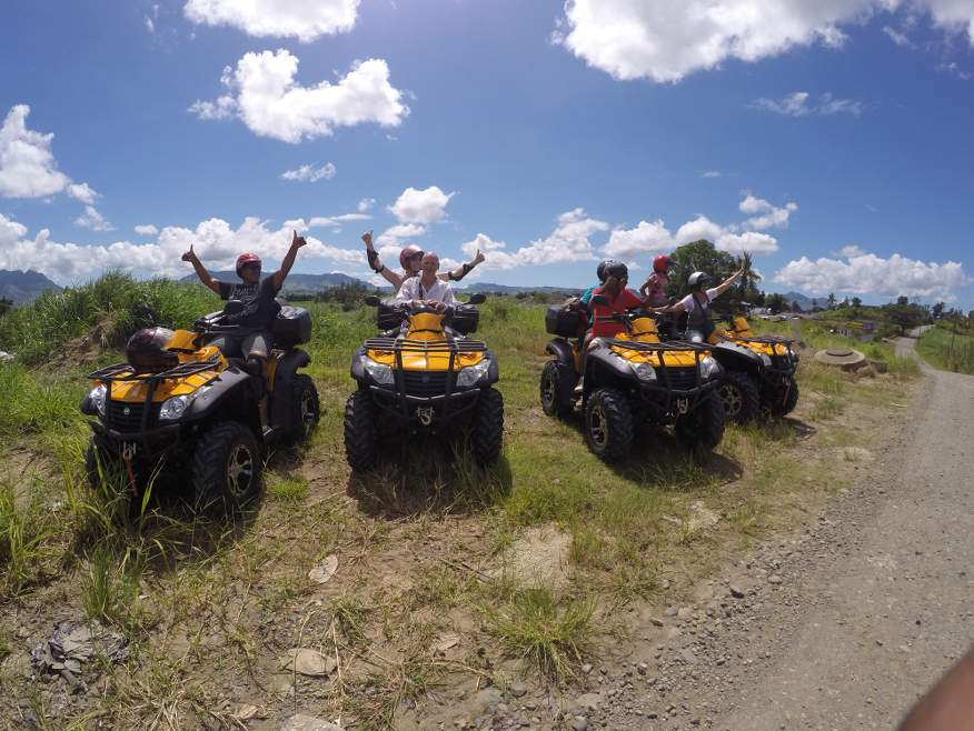 """Mud Sling"" 4x4 Quad Bike Trip to Sabeto Hot Spring Mud Pools - SAVE $20"
