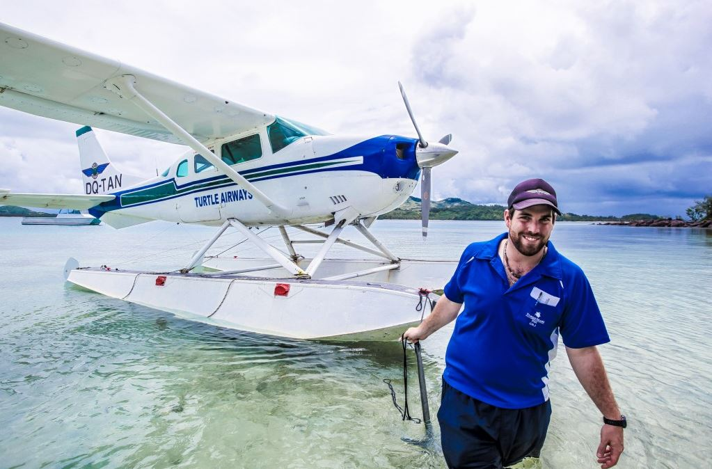 Seaplane Transfer from Nadi to Barefoot Kuata Island by Turtle Airways