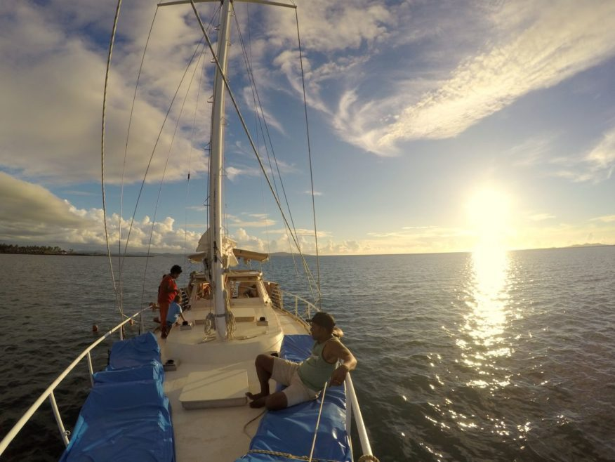 Gipsea Yacht Small Group Sunset Sailing Trip in Fiji