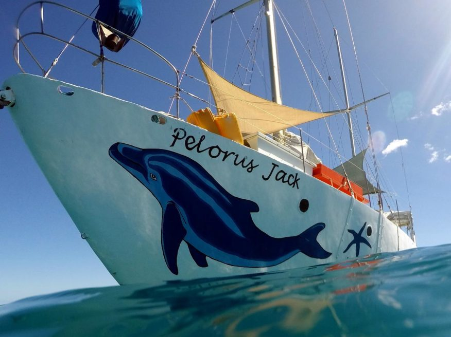 Bounty Island Sailing & Snorkelling with PJ's in Fiji