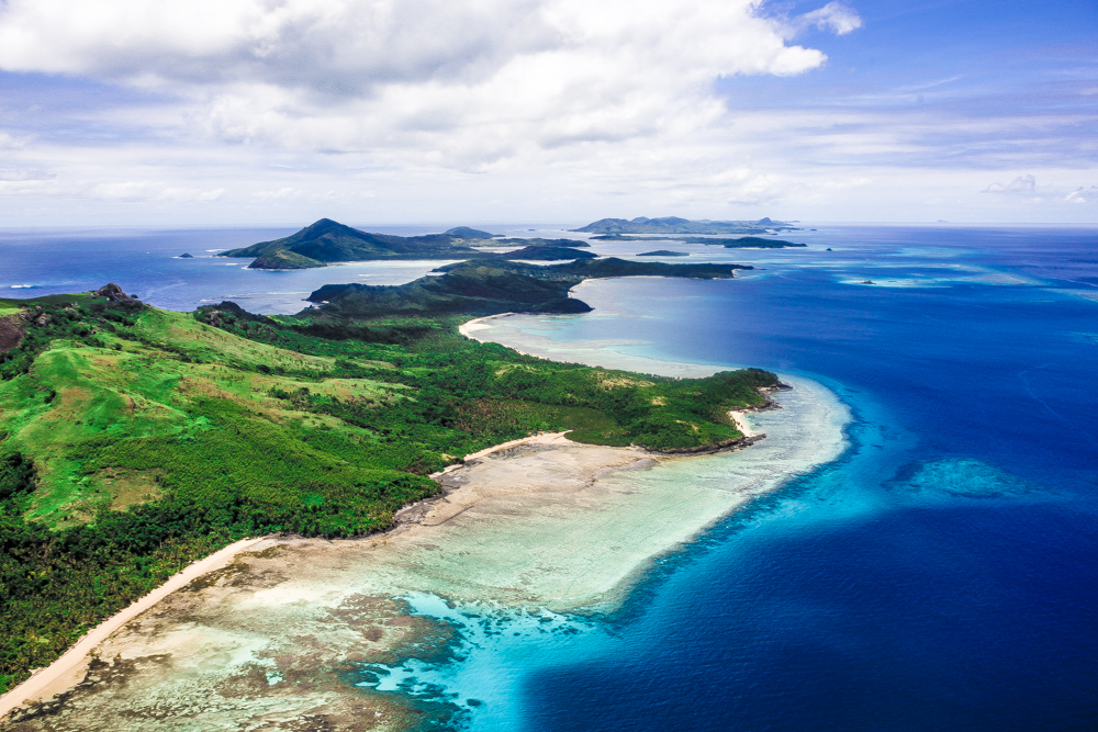 A taste of Fiji Scenic Flight by Helicopter