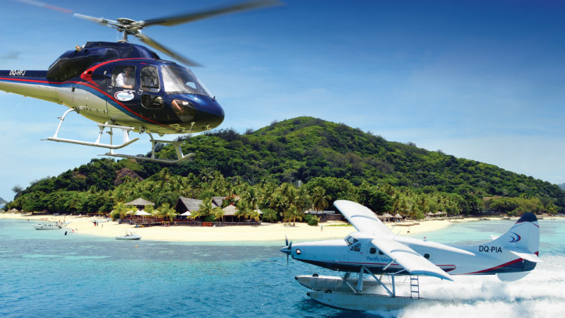 Transfer from Matamanoa Resort to Nadi (Pacific Island Air)