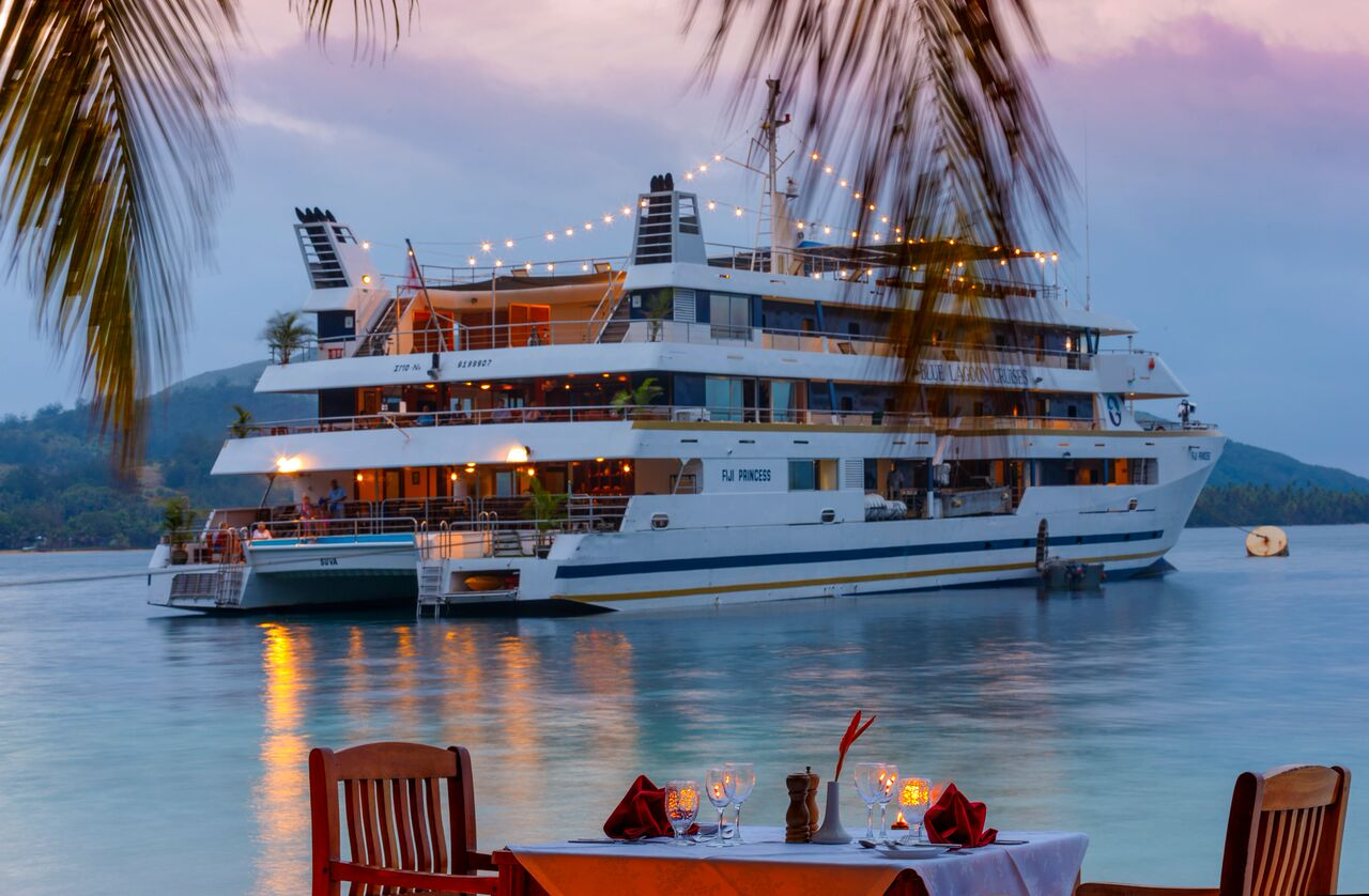 3 Night Blue Lagoon Explorer Cruise - save up to $384 FJD on HIBISCUS CABIN per couple & get a free upgrade to the ORCHID CABIN + No Credit Card Fees