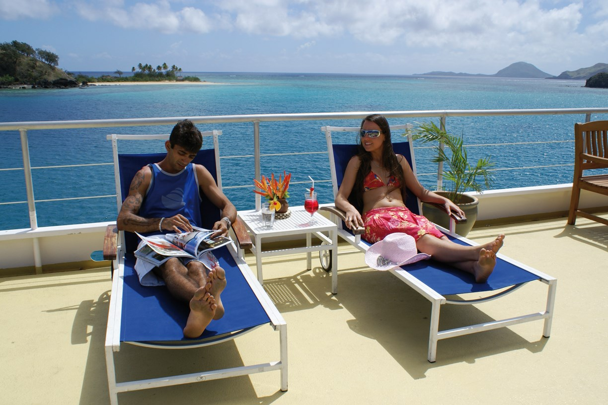 7 Nights Blue Lagoon Escape to Paradise Cruise - save up to $822 FJD on HIBISCUS CABIN per couple & get a free upgrade to the ORCHID CABIN + No Credit Card Fees