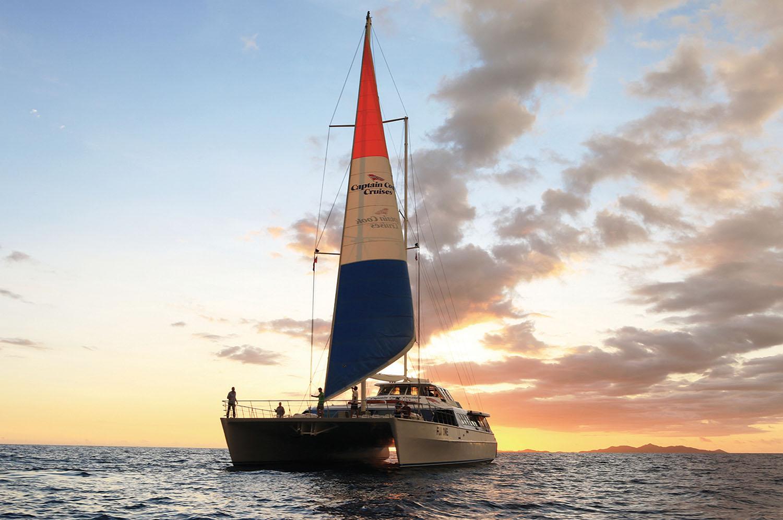 Tivua Island Day Cruise & Sunset Dinner Cruise Combo