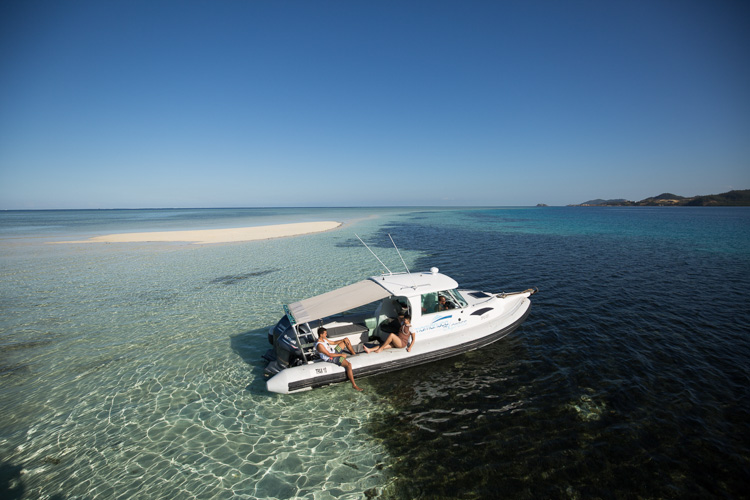 4 hour Private Boat Charter from Denarau - Island Hopping Up to 4 Guests