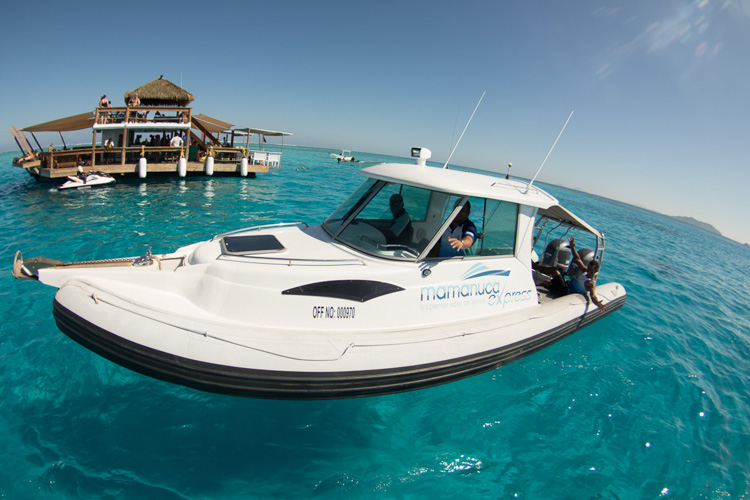 8 Hour Private Boat Charter from Denarau - Island Hopping up to 6 Guests
