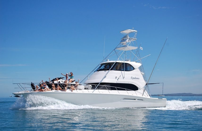 Opulence 4 Hour Boat Charter