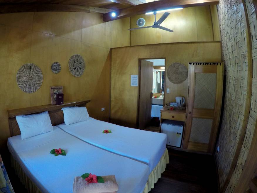 Beachcomber Island Resort Lodge Room