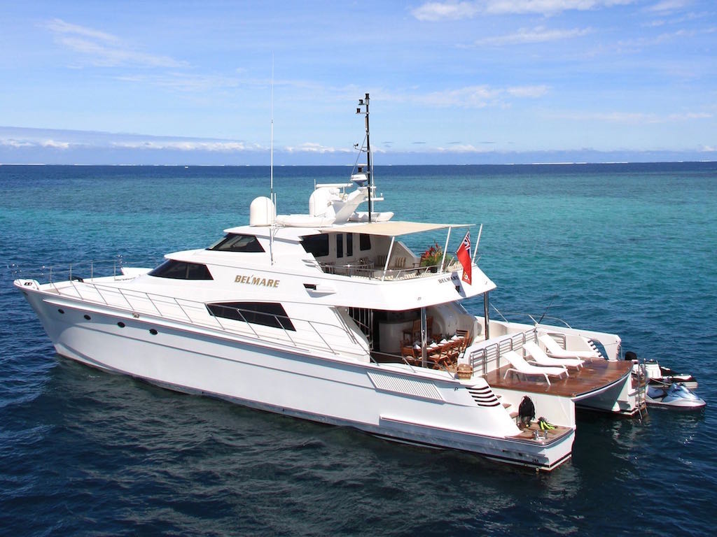 Bel'Mare 7 hour Private Charter