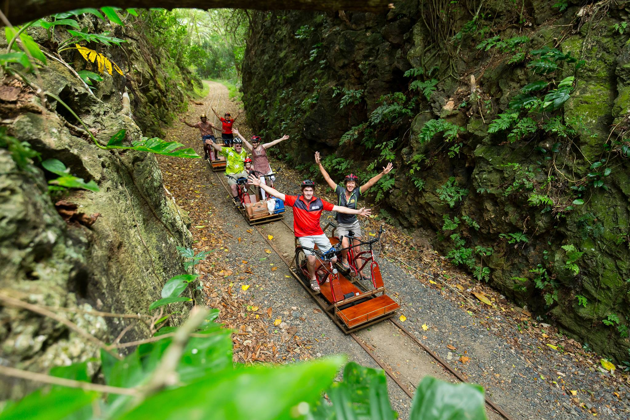 Electric Rail-Riders Tour - Eco Trax Sigatoka